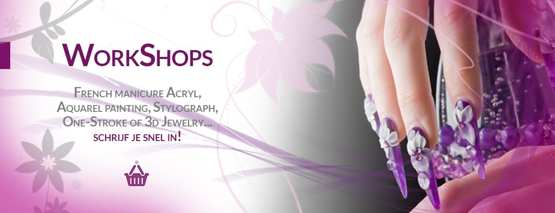 Perfectietrainingen, workshops & opleidingen bij IzaNailSecrets!